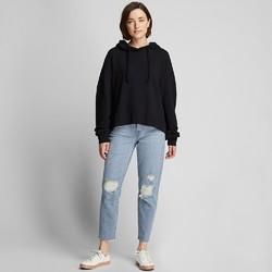 UNIQLO 优衣库 420679 女士窄口牛仔九分裤