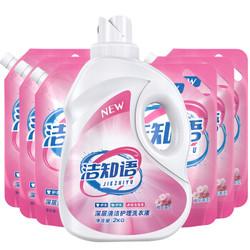 洁知语 洗衣液 家庭组合套装 8kg *4件