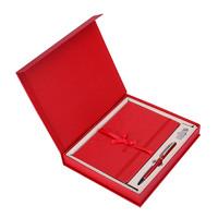 文哲 笔记本 A6/160页 红色