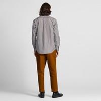 UNIQLO 优衣库 421177 男士优质长绒棉条纹衬衫