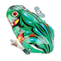 纽奇 怀旧儿童玩具  铁皮青蛙  一只装