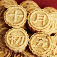 十月初五杏仁饼155g*2盒 一口粒粒传统烘烤糕点休闲零食