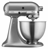 KitchenAid 凯膳怡 5K45SSESL 厨房机 锌压铸 银色