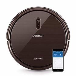 ECOVACS deebot n79s robotic 真空吸尘器带 MAX POWER 吸盘 Alexa 连接 APP 控制 self-charging 适用于 HARD Surface floors & 薄地毯