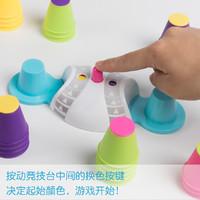 儿童叠杯注意专注力训练逻辑思维桌面亲子互动双人游戏益智类玩具