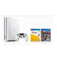 SONY 索尼 PlayStation4 Pro (PS4 Pro)游戏主机 1TB +《乐克乐克重制版》《真三国无双7猛将传》双碟游戏套装