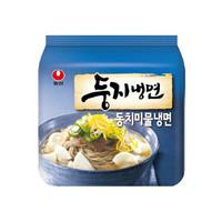 农心 韩式水冷面 荞麦面 161g*4袋
