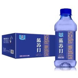 U-Than 优珍 蓝苏打 苏打水饮料 350ml*24瓶