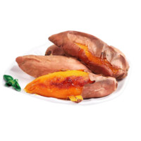 山东糖心红薯 烟薯25号 精选中果 3-8两 1斤 *5件