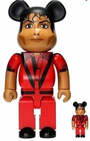 Medicom Toy - Michael Jackson 红色夹克熊砖 - * 版