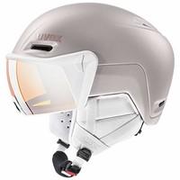 UVEX 优维斯 中性成人 hlmt 700 Visor 滑雪头盔,粉色,55-59 厘米(含税价716.19)