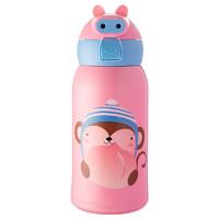 送杯套杯刷 小猪佩奇儿童吸管杯保温杯萌猪水杯