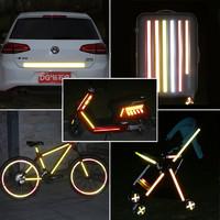 3M反光条汽车电动车摩托车自行车反光贴装饰车贴夜光夜间警示贴纸