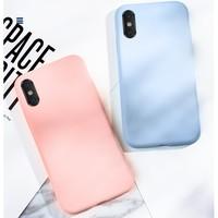 木沙 苹果全系列液态硅胶手机壳  多色可选