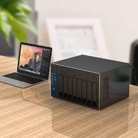 Orico/奥睿科 企业NAS机箱存储家庭网络存储器磁盘阵列柜raid个人私有云存储服务器带宽共享设备