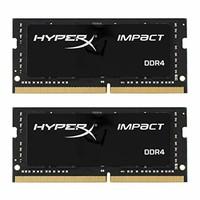 Kingston金士顿 HyperX Impact 32GB笔记本内存条套装2400MHz DDR4 CL14 260针 SODIMM HX424S14IBK2/32