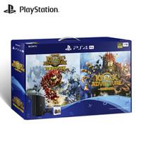 SONY 索尼 PlayStation4 Pro(PS4 Pro)游戏主机 《钠克的大冒险双碟欢乐包》套装