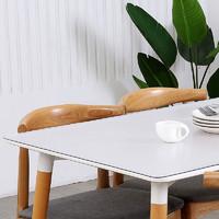 pvc透明桌布防水防油免洗防烫餐桌垫软玻璃塑料水晶板茶几桌布厚