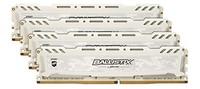Ballistix Sport LT 4GB 单个 DDR4 2400(红色)3200 MT/S CL16 64GB Kit (16GBx4) DR
