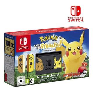 移动端 : Nintendo 任天堂 Switch NS游戏机 《精灵宝可梦》皮卡丘限定版