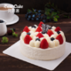 京东PLUS会员,限地区:Best Cake 贝思客 双莓落雪水果蛋糕 1磅 58元包邮(需用券)