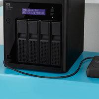 WD/西部数据 My Cloud Pro PR4100 24tb 企业级nas硬盘主机 nas网络存储器 服务器 家用家庭私有云系统 4盘位