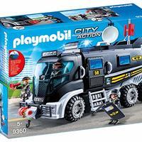 Playmobil 9360 – SEK – 带光和声音的卡车