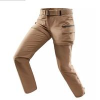 DECATHLON 迪卡侬 FORCLAZ 女士户外运动多功能棉质速干可拆卸长裤