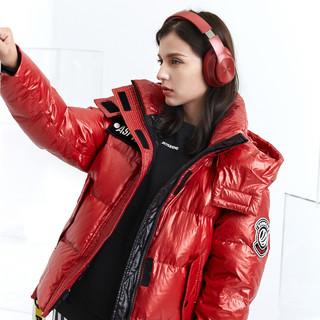 BOSIDENG 波司登 泡芙系列女脱卸帽短款鹅绒2019新款冬季羽绒服外套