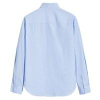 PEACEBIRD 太平鸟 BYCA72A22 男士条纹长袖衬衫