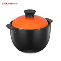 LINKFAIR 凌丰 LFTG-NM24SE 双耳陶瓷汤锅 24cm 4.0L