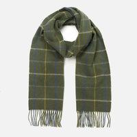 Barbour 羊羔羊毛围巾