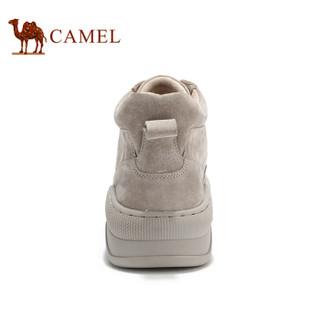 CAMEL 骆驼 A942234609 高帮休闲百搭工装男靴 沙色 41