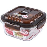 乐扣乐扣 透气孔格拉斯耐热玻璃保鲜盒便当盒饭盒冰箱 LLG214组合