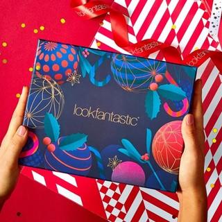 凑单品、银联专享 : LOOKFANTASTIC 12月圣诞限定美妆礼盒