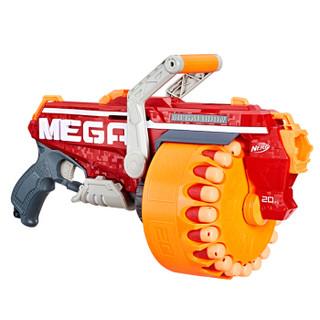 孩之宝(Hasbro)NERF热火 MEGA系列 精英强力巨齿鲨发射器 户外玩具枪E4217(定制)