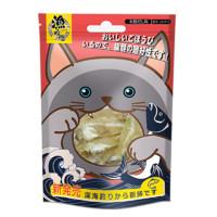 渔晓吃 馋嘴猫无盐磨牙野生小鱼干 鲣鱼 50g *3件
