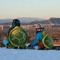 kufun 酷峰 小乌龟造型 wghj 滑雪护臀护膝