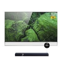 Skyworth 创维 82Q80 4K高清全面屏液晶电视 灰色 82英寸