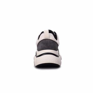 CAMEL 骆驼 A93525690 女款百搭休闲运动鞋 米/黑 37