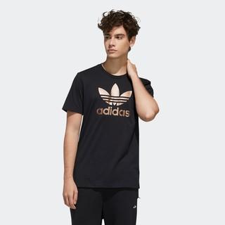 阿迪达斯官网adidas 三叶草 男装圆领套头短袖T恤GH7777 GH7778