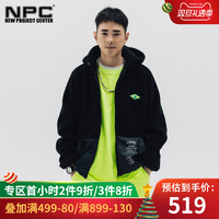 NPC NPYAI6TJ66 男士羊羔绒外套