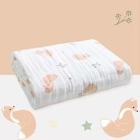 gb/好孩子 婴儿纯棉6层纱布浴巾120*120cm