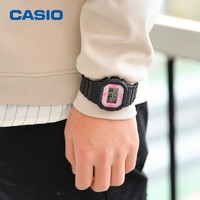 CASIO 卡西欧 G-SHOCK DW-5600TCB-1 樱花限定款 运动腕表