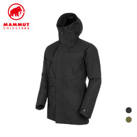 MAMMUT 猛犸象 男士750蓬鹅绒防风硬壳羽绒大衣