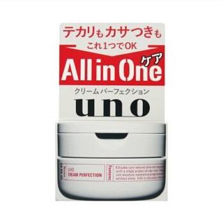 京东PLUS会员 : SHISEIDO 资生堂 UNO 吾诺 多效合一完美面霜 90g *4件