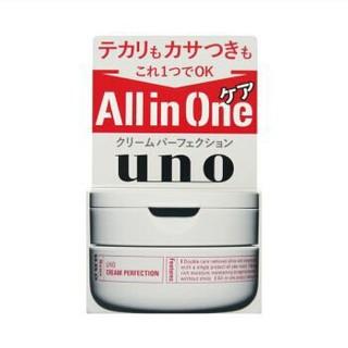京东PLUS会员 : SHISEIDO 资生堂 UNO 吾诺 多效合一完美面霜 90g *5件