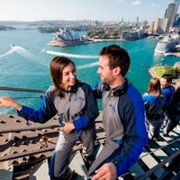 挑战世界最长可攀登大桥!悉尼海港大桥攀登体验 送免费个人照片