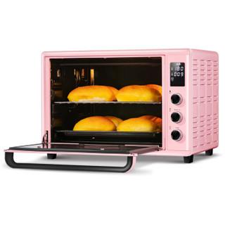 Changdi 长帝 全景搪瓷电烤箱 CRDF32WBL 粉色