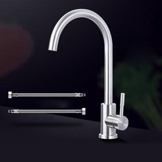 蓝藤卫浴 厨房冷热水龙头304不锈钢旋转洗菜盆水龙头水槽龙头. LT-9036